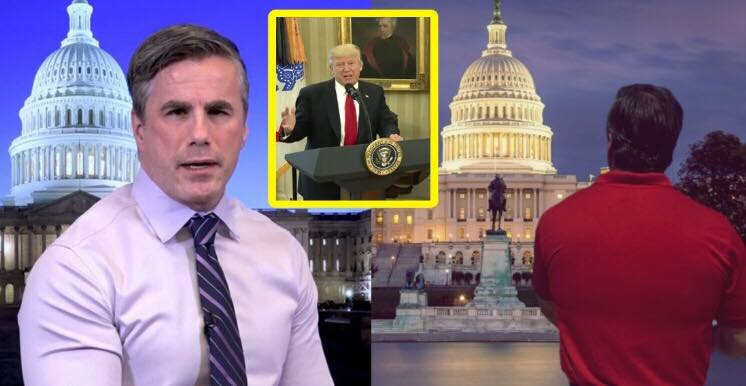 Tom Fitton supports the President's decision. Photo credit to Swamp Drain Collage with images sourced from Judicial Watch, Reddit, Screen Grab.