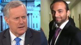 Mark Meadows exposed double standard in George Papadopoulos' closed door testimony in front of Congress. Photo credit to US4Trump compilation screen shots.