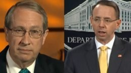 Goodlatte responded to Rosenstein's no-show on Capitol Hill. Photo credit to Swamp Drain compilation with screen shots.