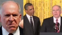 Brennan gets roasted after his arm chair diagnosis of the President. Photo credit to Swamp Drain compilation with Reuters, Telegraph Screen Shot.