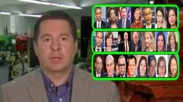 Devin Nunes discusses Mueller probe and fourth bucket. Photo credit to Swamp Drain compilation with screen grabs.