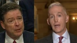 James Comey is on Capitol Hill today and Trey Gowdy discusses it with Shannon Bream. Photo credit to Swamp Drain compilation with screen shots.