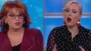Meghan McCain shuts Joy Behar down in defense of keeping #41's remembrance free of political bashing. Photo credit to Swamp Drain compilation with screen shots.