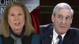 """Sidney Powell, author of """"Licensed to Lie: Exposing Corruption in the Department of Justice"""" uncovers what the 'insurance policy' against Trump was all about. Photo credit to Swamp Drain compilation with screen shots."""