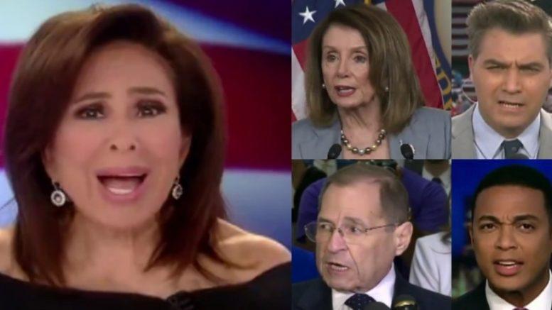 Judge Jeanine, Constitutional Crisis, Democrats