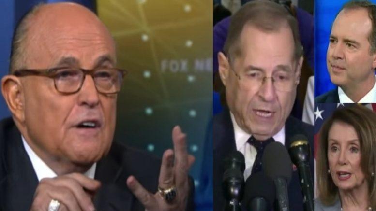 Giuliani, Democrats, Schiff, Nadler, Pelosi