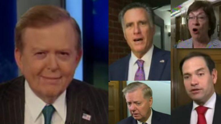 Dobbs, Romney, Graham, Collins, Rubio