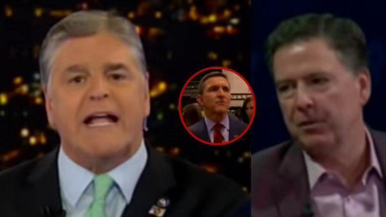 Hannity, Flynn, Comey