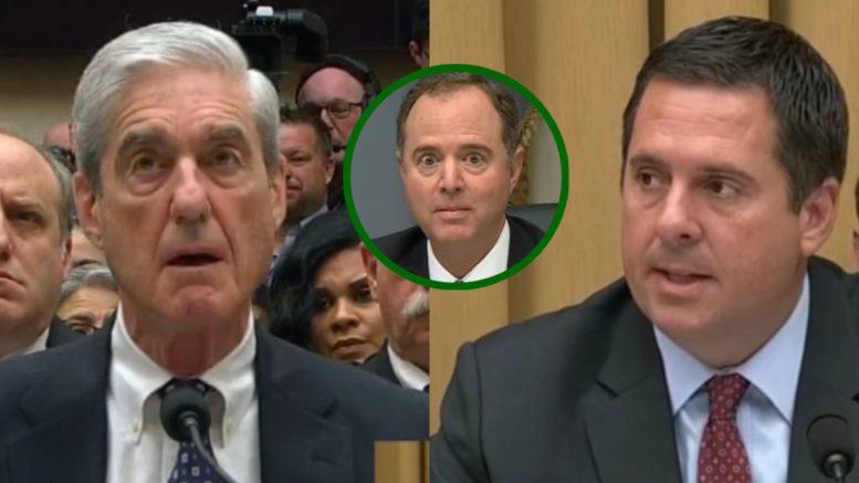 Mueller, Schiff, nunes