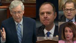 McConnell, Schiff, Nadler, Pelosi