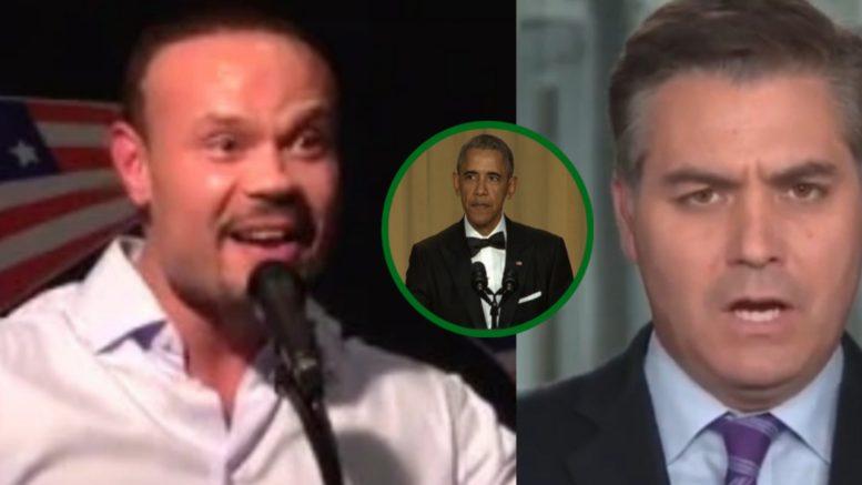Bongino, Obama, Acosta