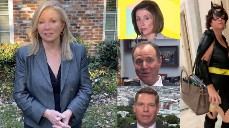 Blackburn, Pelosi, Schiff, Swalwell,