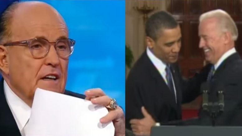 Giuliani, Obama, Biden
