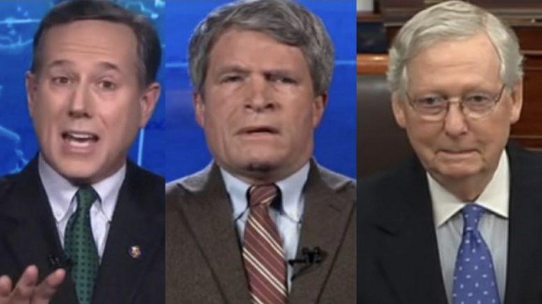 Santorum, Painter, McConnell