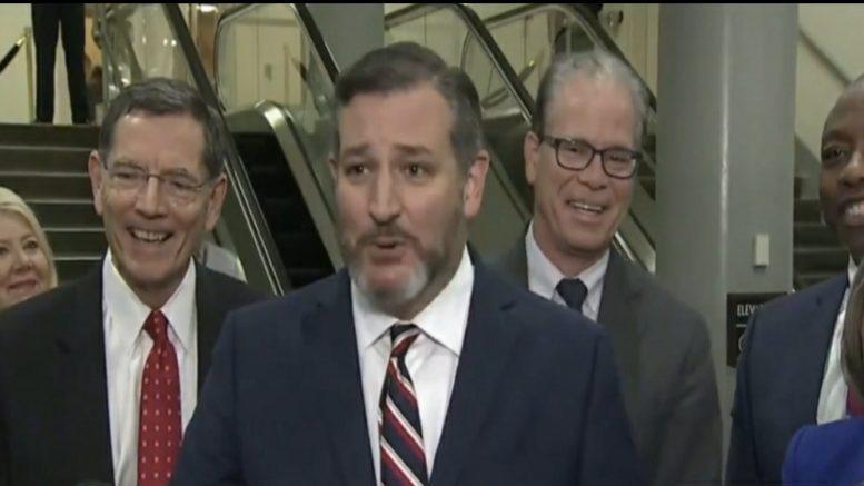 Cruz, GOP Senators