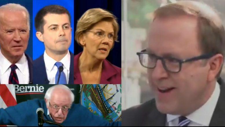 Biden, Buttigieg, Warren, Bernie, Karl