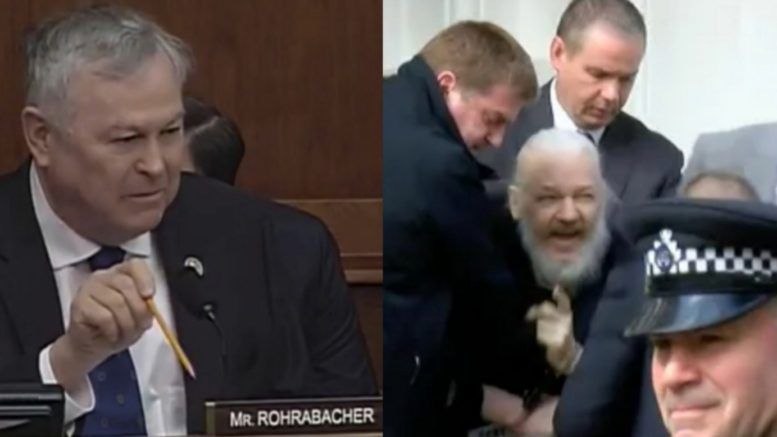 Rohrabacher, Assange