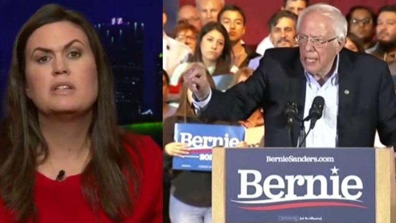 Sarah Sanders, Bernie Sanders