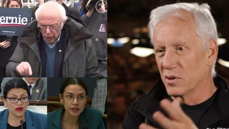 Bernie, Rashida, AOC, James Woods