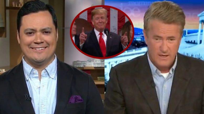 Kristian Ramos, Trump, Scarborough