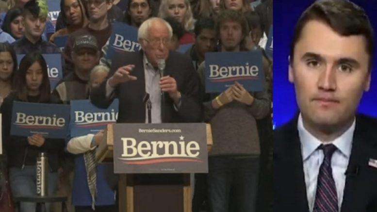Bernie Sanders, Charlie Kirk