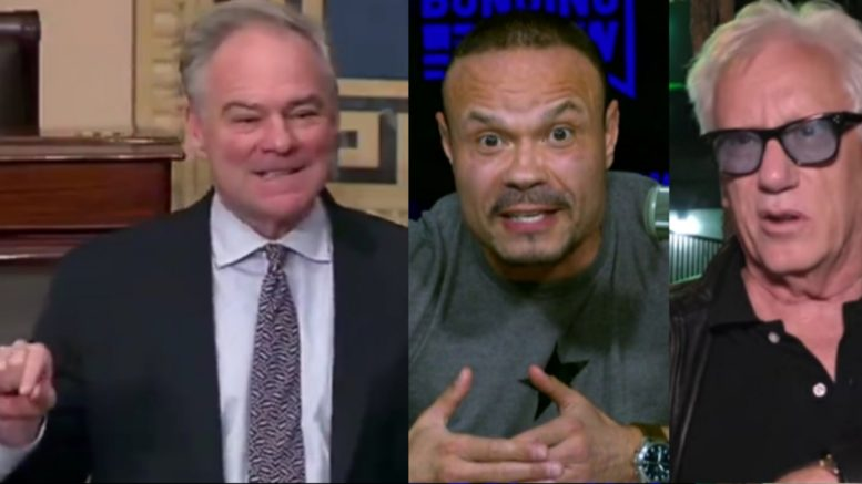 Tim Kaine, Bongino, Woods