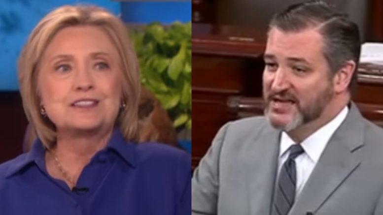 Hillary, Cruz