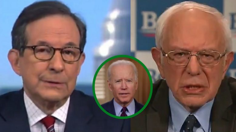Chris Wallace, Bernie, Biden
