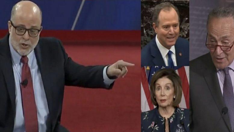 Levin, Schiff, Pelosi, Schumer