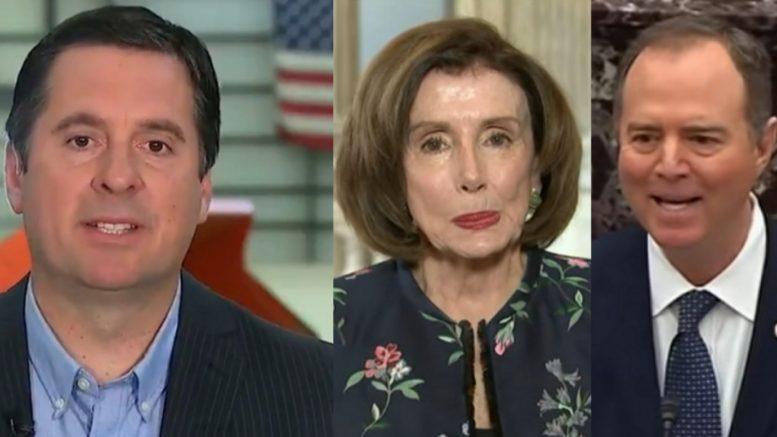 Nunes, Pelosi, Schiff
