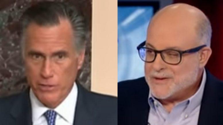 Romney, Levin