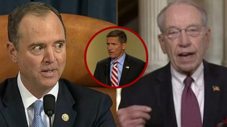 Schiff, Flynn, Grassley