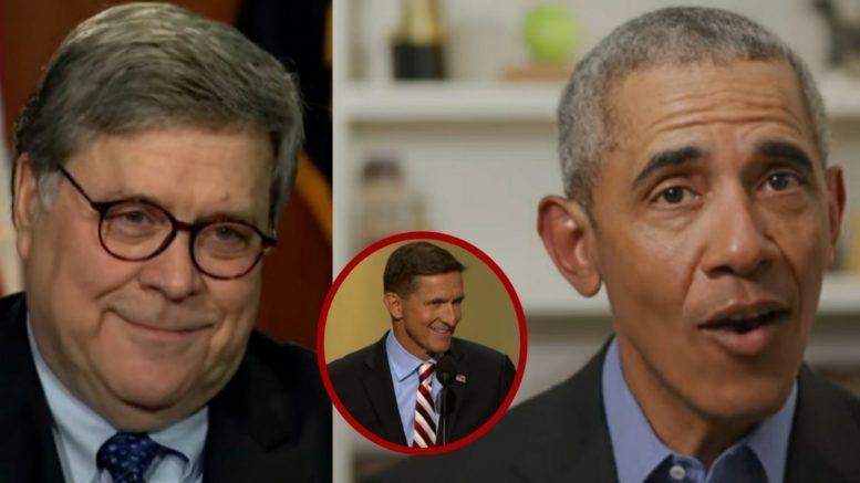 Barr, Flynn, Obama