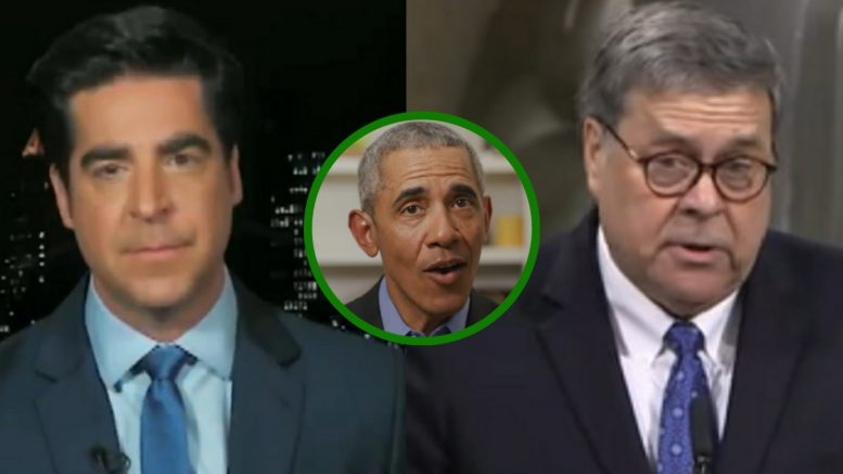 Jesse Watters, Obama, Barr