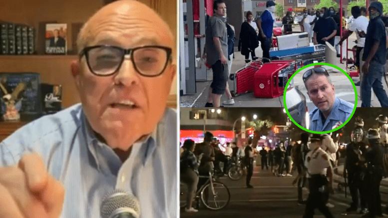Rudy Giuliani, Riots