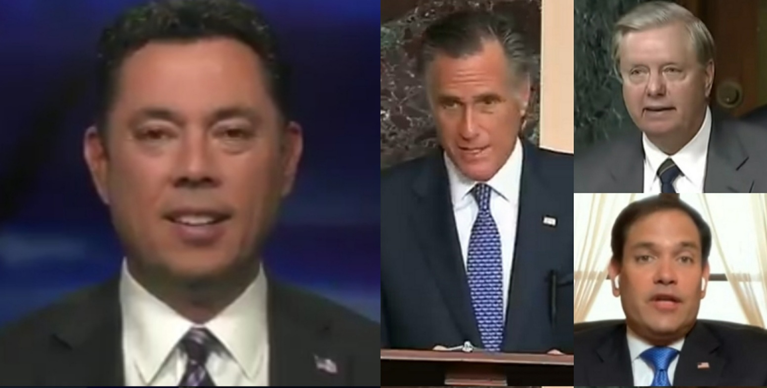 """Chaffetz Rips Romney, Rubio & Graham Over Their Latest 'RINO Resistance' Against Trump: """"You Don't Win Elections By Being In The Wishy Washy Middle"""""""