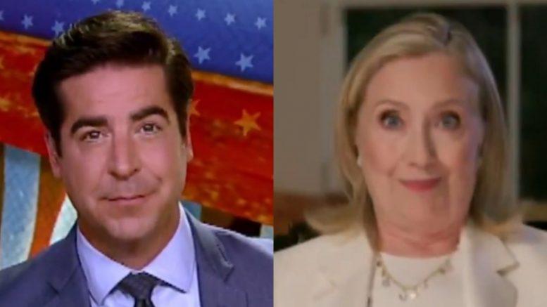Jesse Watters, Hillary