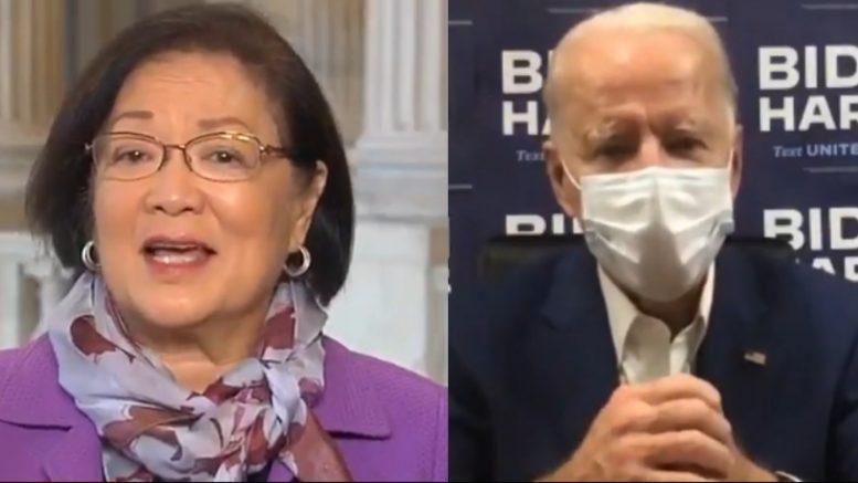 Hirono, Biden