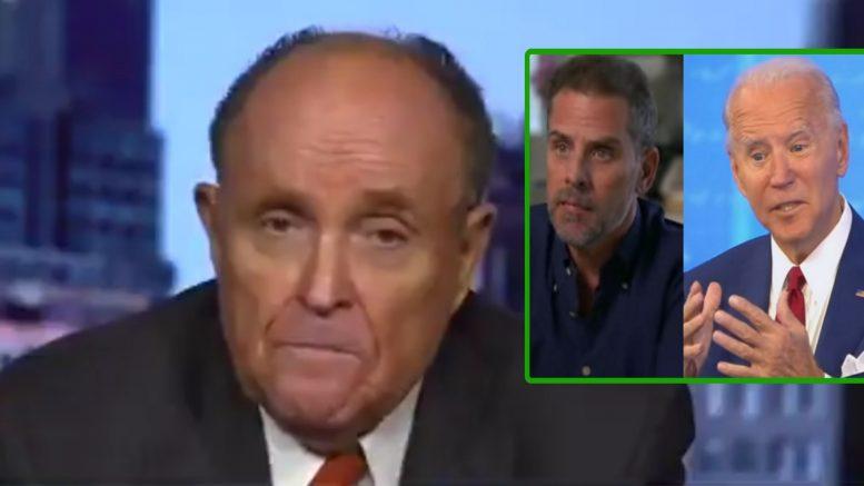 Rudy, Hunter, Biden