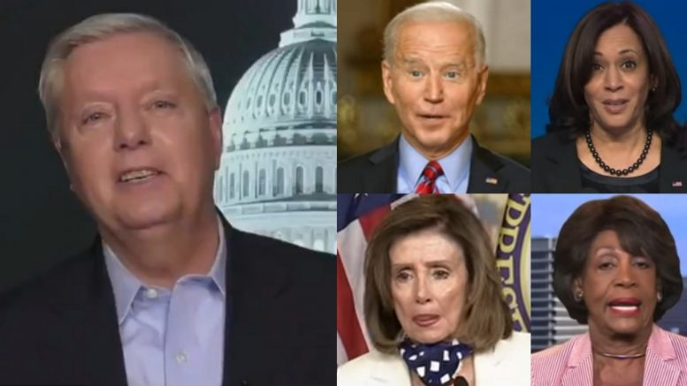 Graham, Biden, Kamala, Pelosi, Maxine