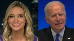 McEnany, Biden