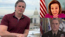 Tom Fitton, Pelosi, Milley