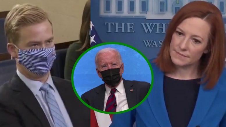 Peter Doocy, Biden, Psaki